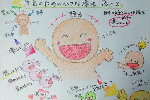 まんぼ&ちかのオンライン育自の魔法Part2~自分の楽しいことを語る!~